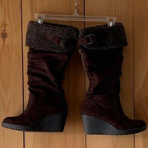🌈 Aldo Suede Snow Boots